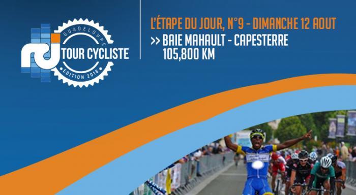La dernière étape du 68ème tour cycliste de la Guadeloupe en direct ! BORIS CARÈNE CHAMPION !