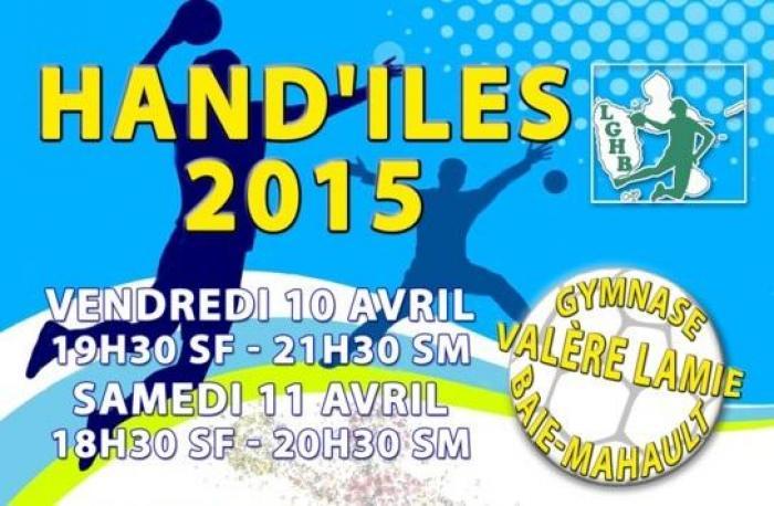 La deuxième édition du tournoi Hand'Iles débute vendredi 10  avril