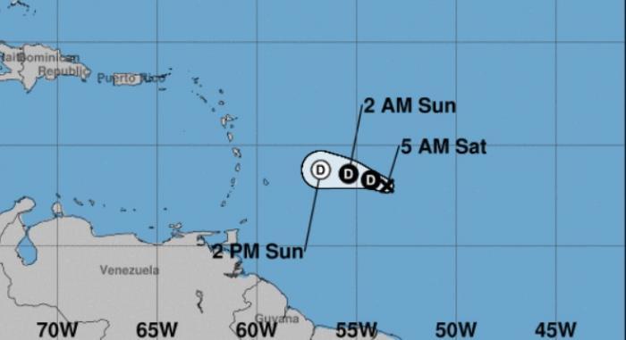La dépression tropicale 11 est née