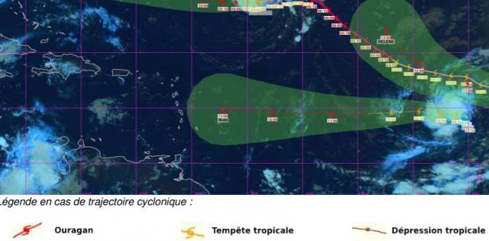 La dépression tropicale 9 devrait devenir une tempête dans la journée