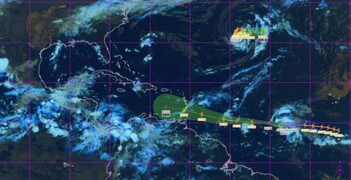 La dépression tropicale Kirk pourrait nous concerner en milieu de semaine
