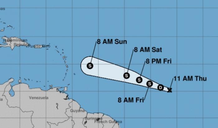 La dépression tropicale numéro 2 est née !