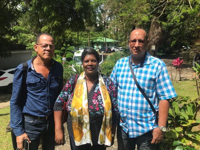La Fédération de Martinique du rassemblement national est en colère