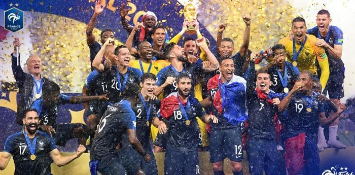 La France est championne du monde de football pour la deuxième fois de son histoire