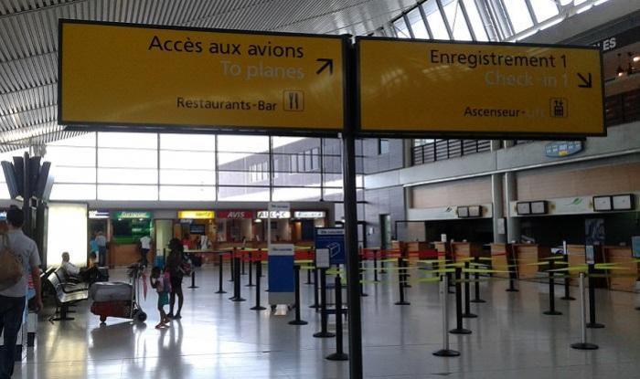 La fréquentation de l'aéroport Aimé Césaire en baisse !