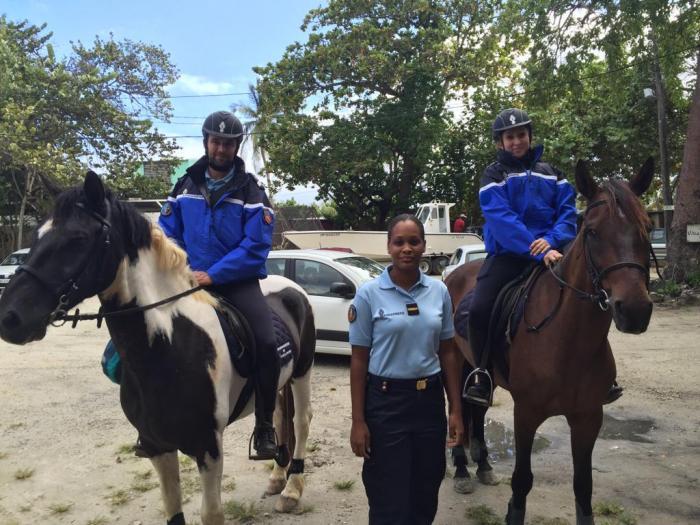 La gendarmerie de Guadeloupe prend de la hauteur !