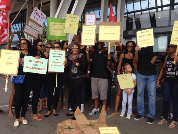 La grève d'AirCaraïbes : aucune perturbations sur les vols pour l'instant