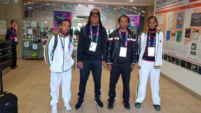 La Guadeloupe aux mondiaux de Taekwondo