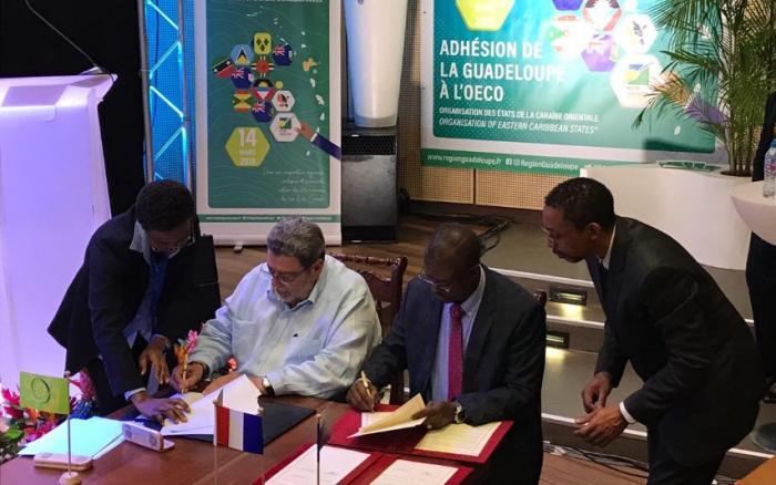 La Guadeloupe est désormais un membre associé de l'OECS