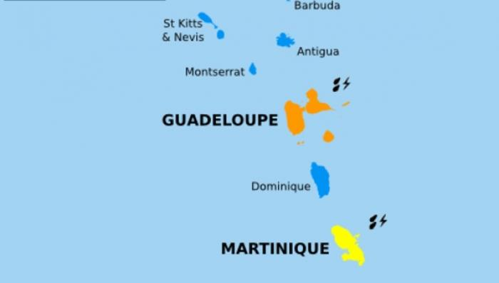 La Guadeloupe passe en vigilance orange fortes pluies et orages