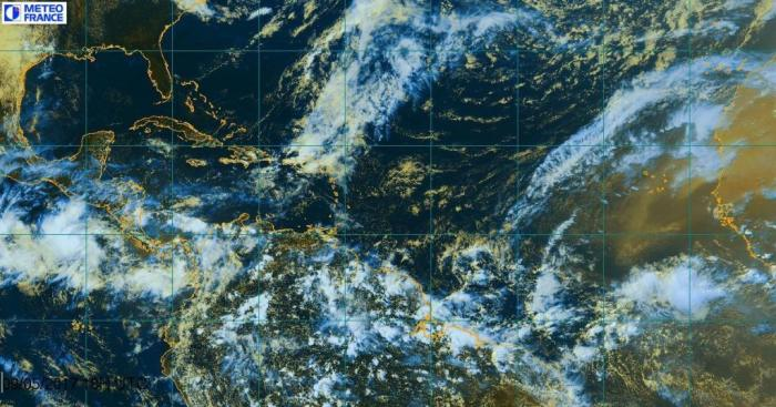 La Guadeloupe placée en vigilance Orange pour fortes pluies et orages