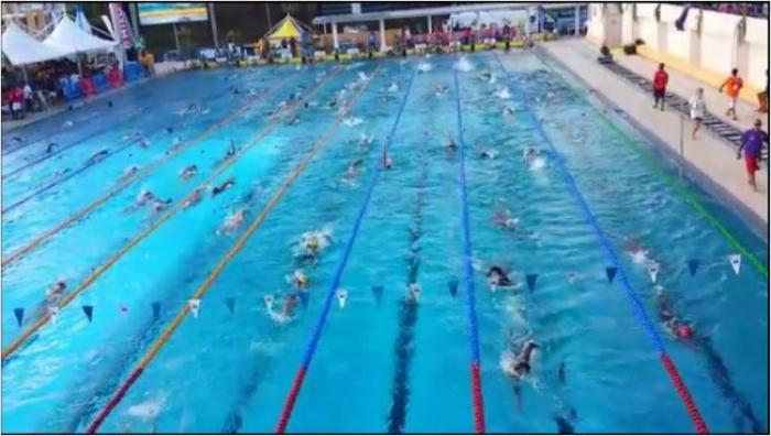 La Guadeloupe rafle la mise aux Carifta Games de natation 2016 en Martinique
