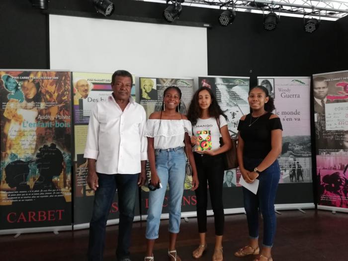 La Jamaïque brille avec le Prix Carbet des Lycéens 2019