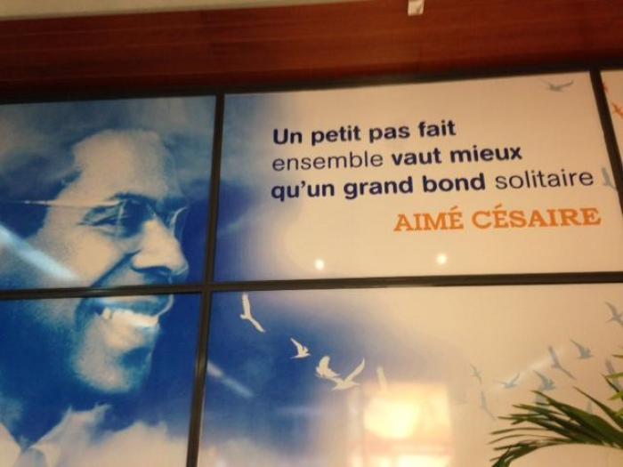 La maison d'Aimé Césaire cambriolée !