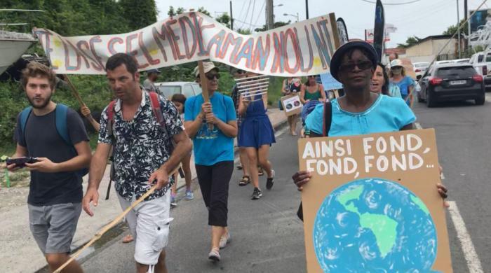 La marche des océans a peu mobilisé ce samedi