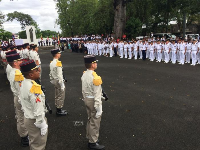 La Martinique commémore les 100 ans de l'Armistice du 11 novembre 1918.