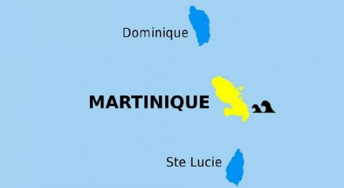 La Martinique de nouveau en vigilance jaune pour mer dangereuse à la côte