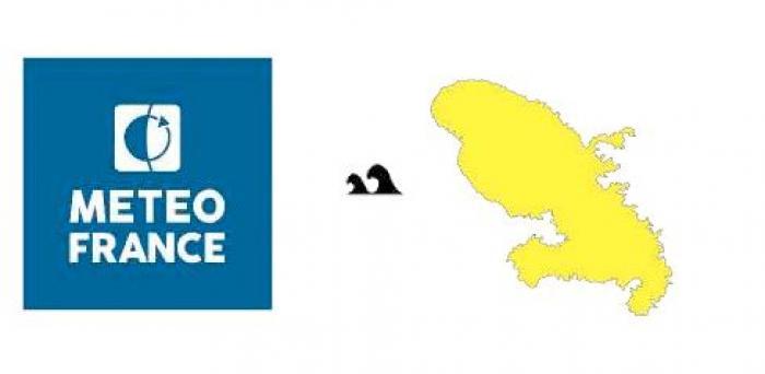 La Martinique en vigilance jaune pour mer dangereuse à la côte