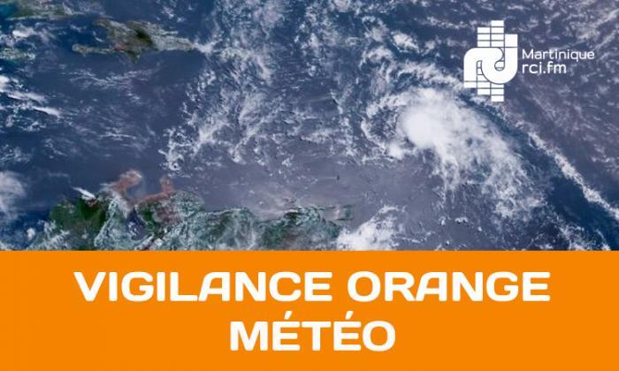 La Martinique en vigilance orange pour fortes pluies et orages et jaune pour vents violents et mer dangereuse à la côte