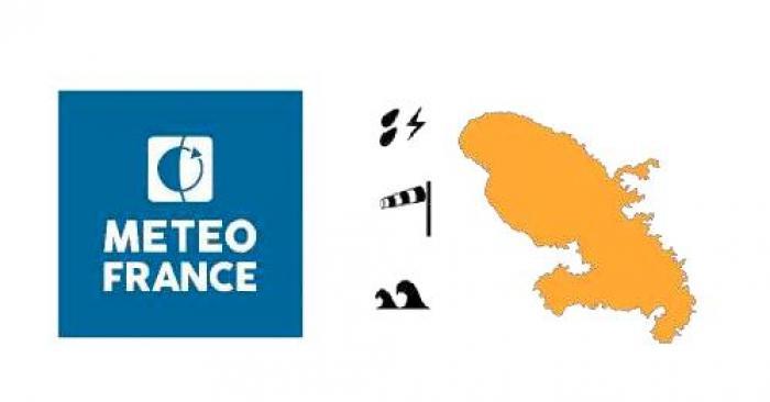 La Martinique en vigilance orange : une probable tempête tropicale approche