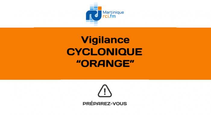 La Martinique passe désormais en vigilance orange cyclone