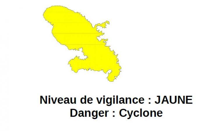 La Martinique passe en vigilance jaune cyclone