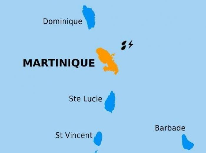La Martinique placée en alerte orange