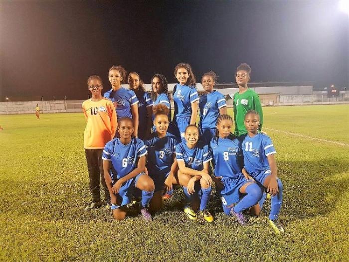 La Martinique remporte la 1ère édition du tournoi inter-Ligues U15 féminin