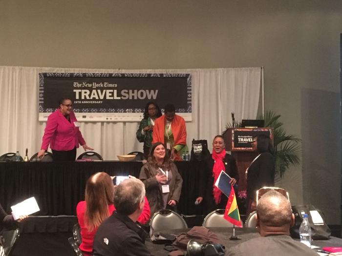 La Martinique représentée au New York Times Travel Show