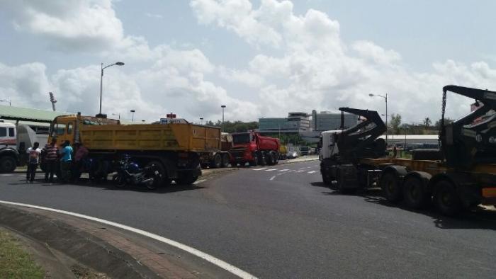 La mobilisation des transporteurs se poursuit