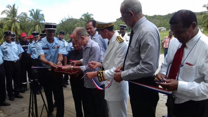 La nouvelle caserne des pompiers des Trois-Ilets inaugurée