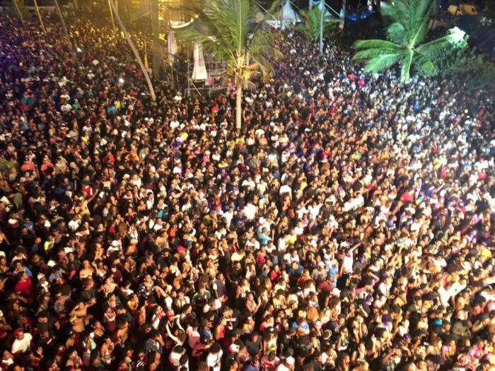 La photo du jour : l'immense succès du Baccha Festival