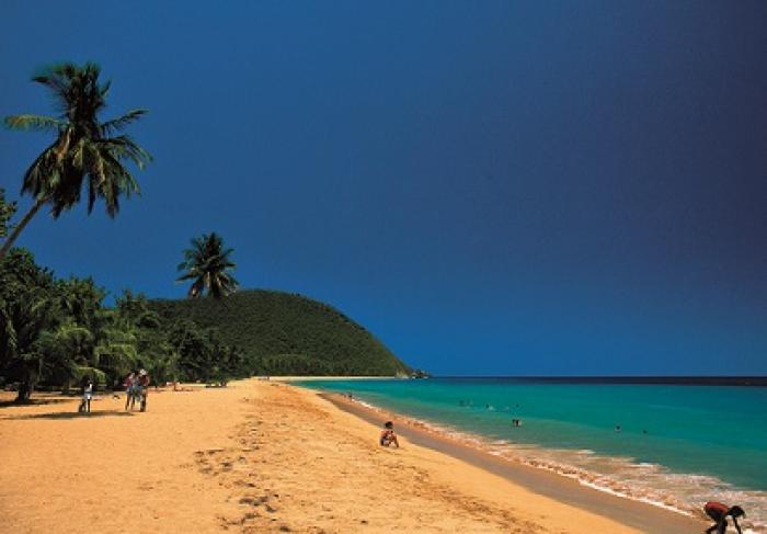 La plage de Grande-Anse classée parmi les 25 plus belles plages de la Caraïbe