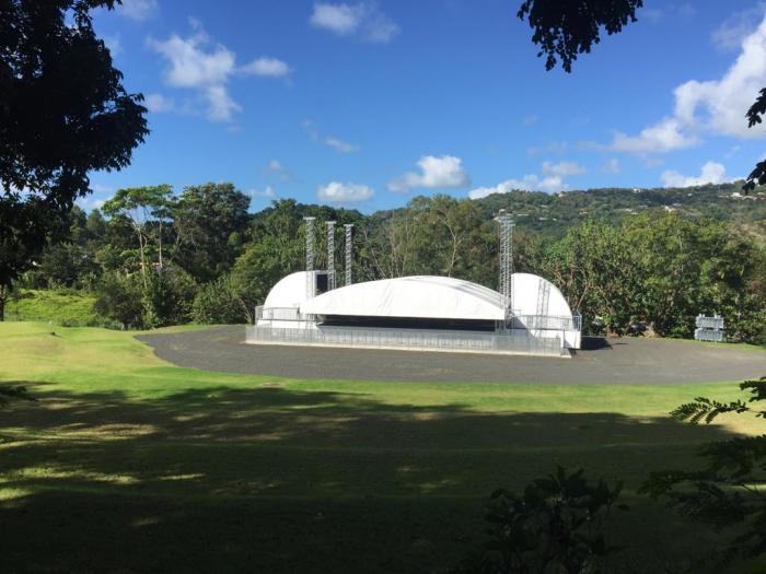 La plus grande scène de Martinique bientôt inaugurée