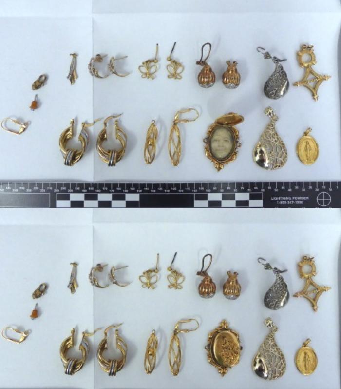 La police cherche des propriétaires de bijoux volés