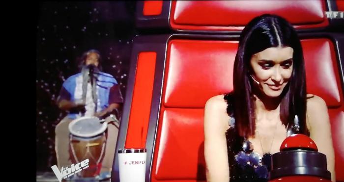 """La prestation """"The Voice"""" de Fanswa Ladrezeau"""