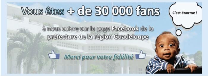 La Préfecture cartonne sur Facebook