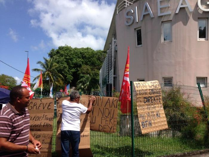 La préfecture va réquisitionner le personnel gréviste du SIAEAG