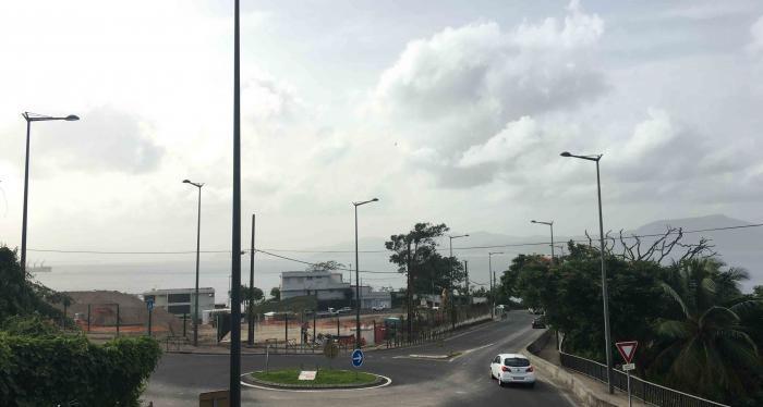La qualité de l'air est encore très mauvaise en Martinique