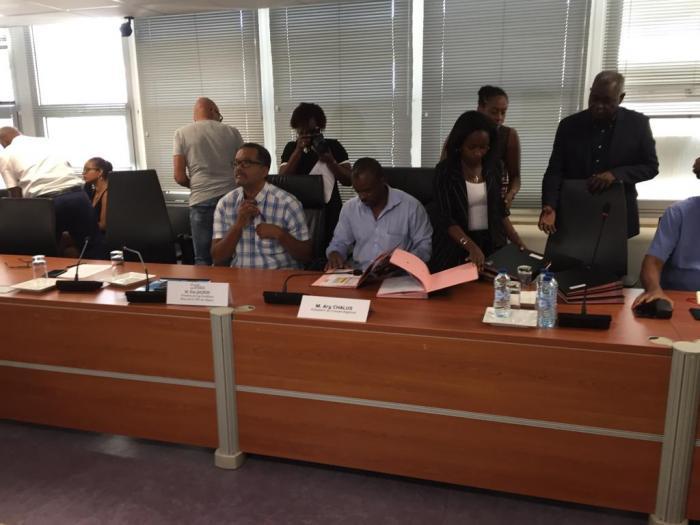 La Région Guadeloupe et Cap Excellence ensemble vers les travaux du futur CHU