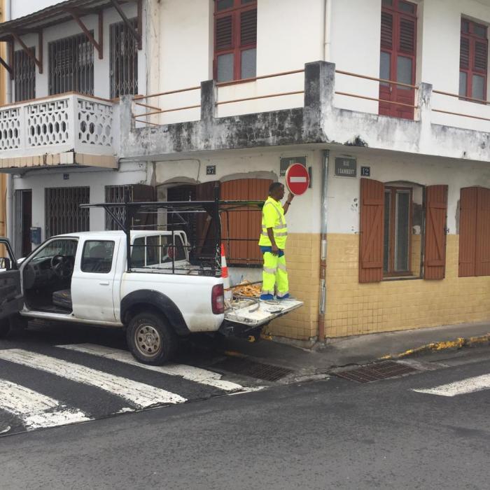 La rue Garnier Pagès, piétonne depuis ce matin