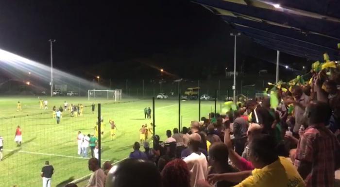 La Samaritaine en finale de la Coupe de Martinique