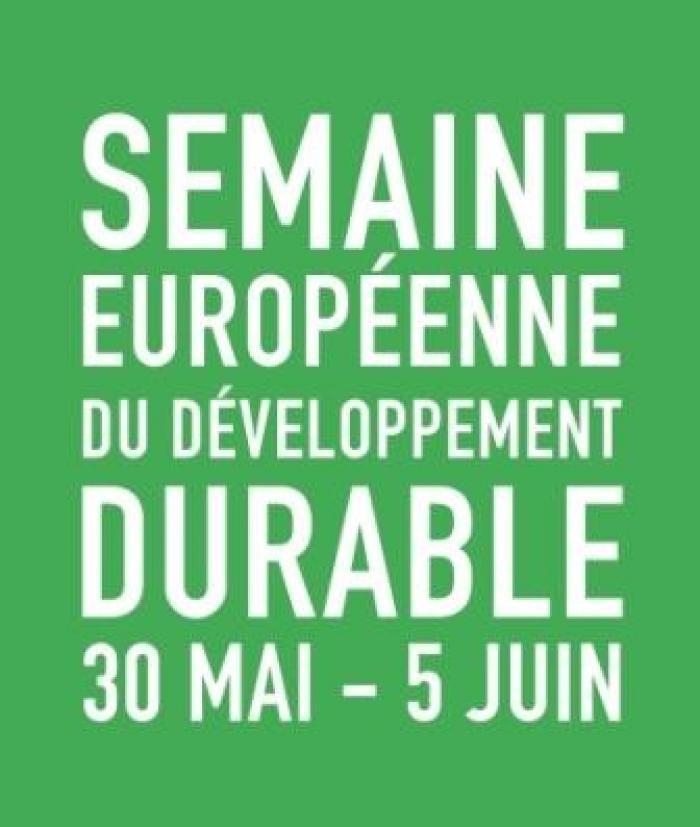 La semaine du développement durable est lancée
