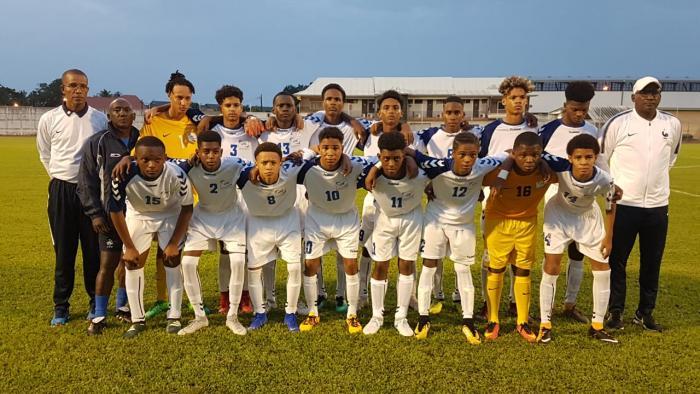 La sélection U15 de Martinique remporte le tournoi Claude Elise en Guyane