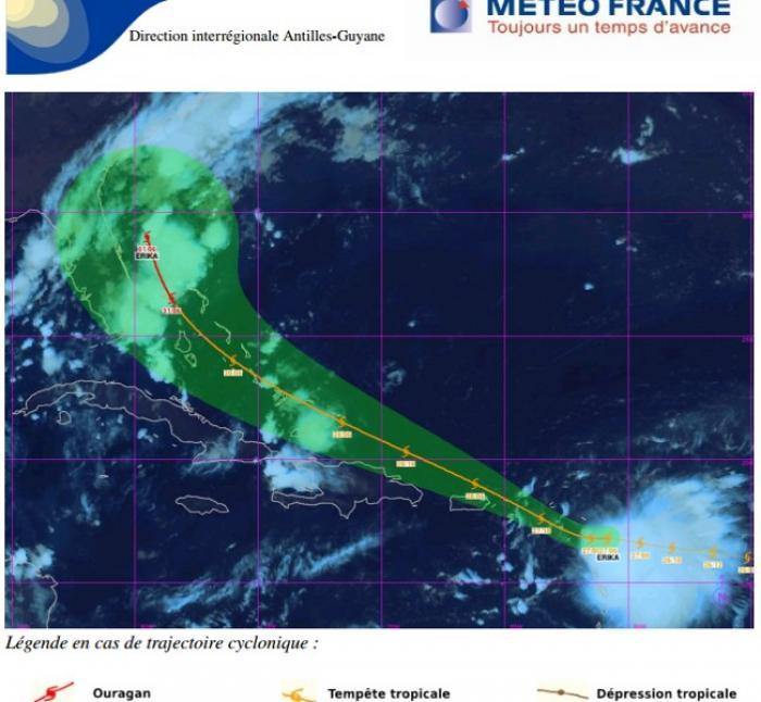 La tempête Erika est bien là !