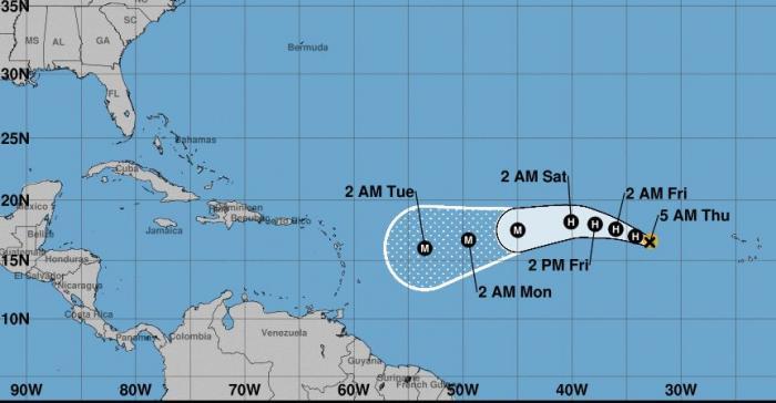 La tempête Irma sous étroite surveillance