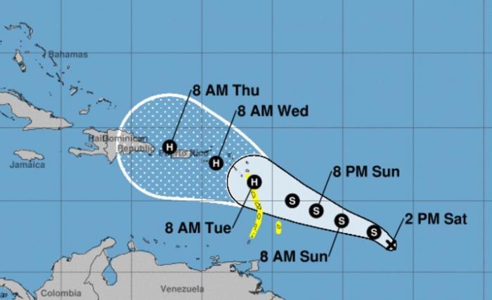 La tempête Maria est née, la Guadeloupe en ligne de mire pour l'instant