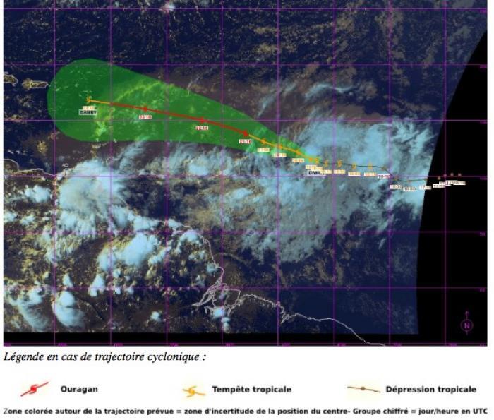 La tempête tropicale Danny va devenir un ouragan