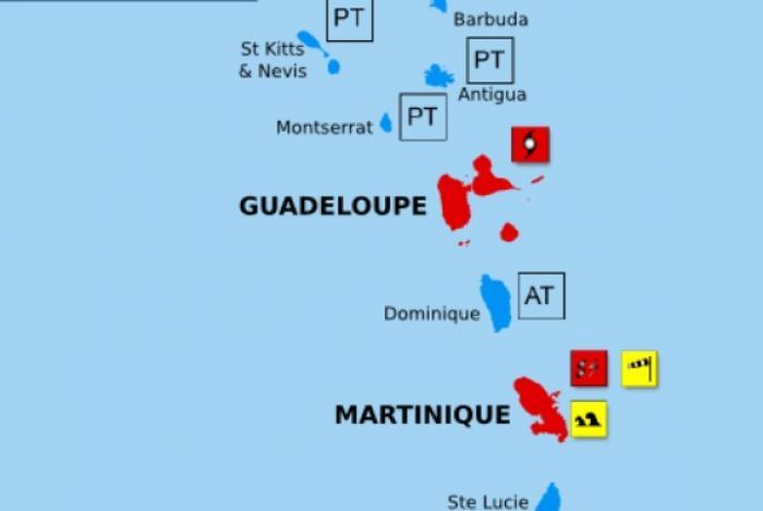 La tempête tropicale ISAAC est à moins de 380 km de nos côtes