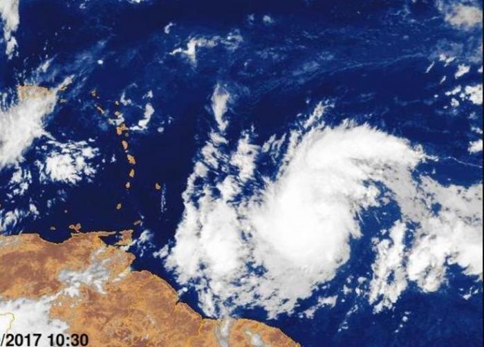 La tempête tropicale MARIA devrait être baptisée dans la journée
